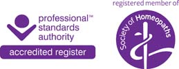 Registered Member of The Society of Homeopaths